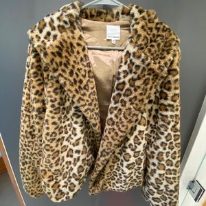 DOLLS KILL | Faux Fur Cheetah Coat